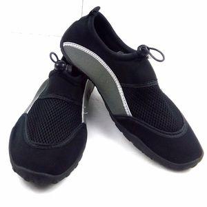 Shoes - Women's 9-10 Swim Water Shoes Black/Grey